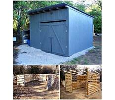 Wood shed from pallets.aspx Plan