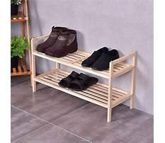 Wood shoe rack amazon Plan