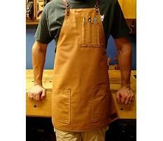 Wood shop aprons Plan