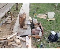 Wood splitter diy.aspx Plan
