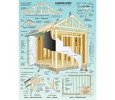 Wood storage shed aspx page Plan