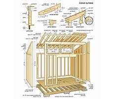 Wood storage sheds plans.aspx Plan