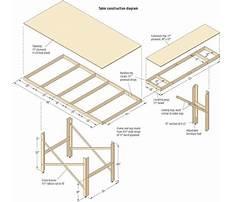 Wood train table plans free Plan