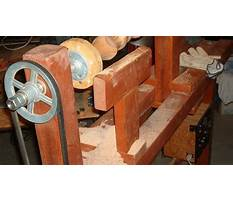 Wood turning projects on lathe Plan