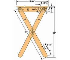 Wood tv trays plans Plan