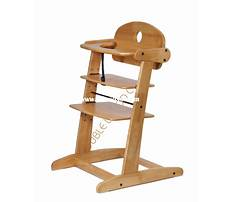 Wooden baby high chair designs Plan