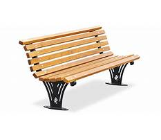 Wooden bench png Plan