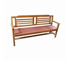 Wooden bench price Plan