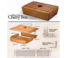 Wooden box making techniques Plan