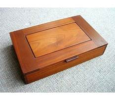 Wooden box plans small Plan
