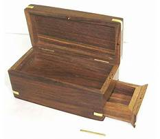 Wooden boxes with secret compartments Plan