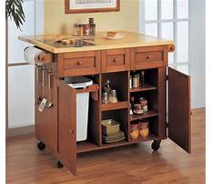 Wooden cabinets on wheels Plan