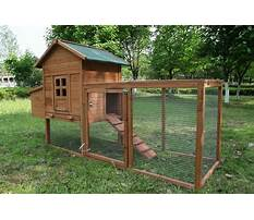 Wooden chicken coop and run Plan