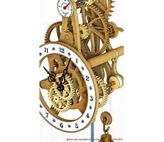 Wooden clock patterns free Plan