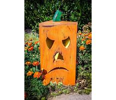 Wooden craft ideas for halloween Plan