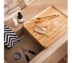 Wooden drainer butler sink Plan