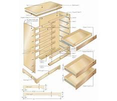 Wooden dresser box Plan