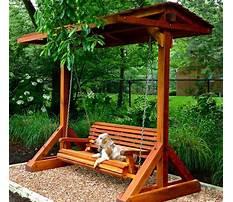 Wooden garden swings ireland Plan