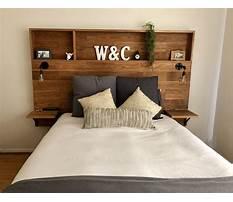 Wooden headboard design ideas Plan