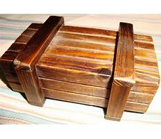 Wooden letterbox designs Plan