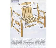 Wooden outdoor chair designs Plan