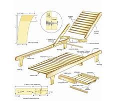 Wooden outdoor furniture patterns Plan