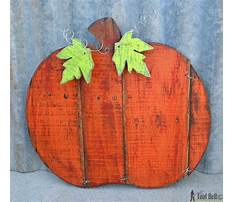 Wooden patterns for fall Plan