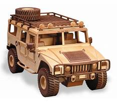 Wooden patterns for military vehicles Plan