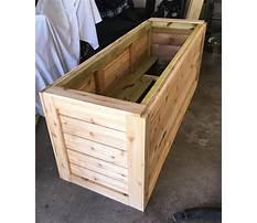 Wooden planter boxes diy aspx files Plan