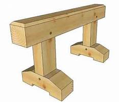 Wooden sawhorse.aspx Plan