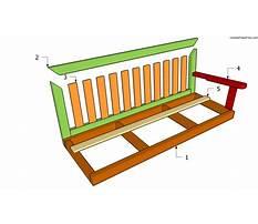 Wooden swing bench plans.aspx Plan