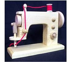 Wooden toy sewing machine plans Plan