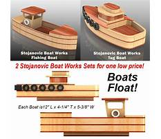 Wooden toy tugboat plans Plan