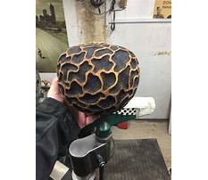 Woodturning projects texturing Plan