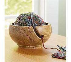 Woodturning projects yarn bowl Plan