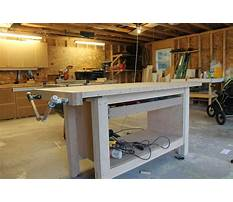Woodworking bench plans.aspx Plan