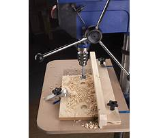 Woodworking drill press requirements Plan