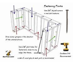 Woodworking home bar plans Plan
