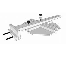 Woodworking oval jig Plan