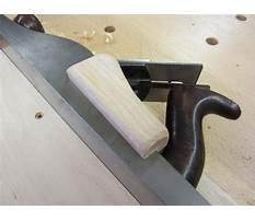 Woodworking plane plans.aspx Plan