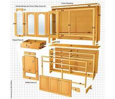 Woodworking plans dining room hutch Plan