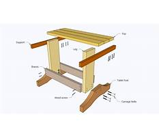 Woodworking plans for a desk Plan