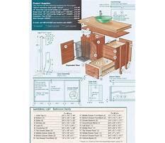 Woodworking plans for bathroom vanity Plan