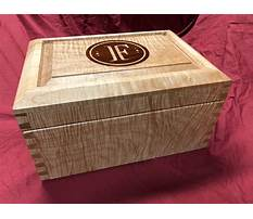 Woodworking plans humidor Plan