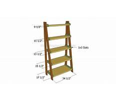 Woodworking plans ladder shelf.aspx Plan