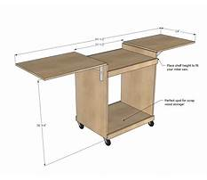 Woodworking plans miter saw stand.aspx Plan