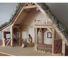 Woodworking plans nativity stable Plan