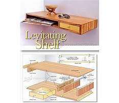 Woodworking plans to make floating shelf Plan