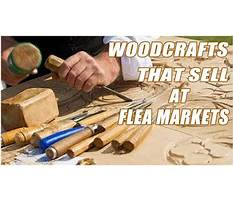 Woodworking projects that sell at flea markets Plan