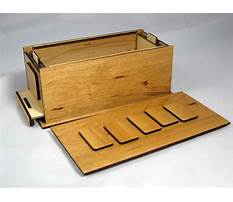 Woodworking puzzle box Plan